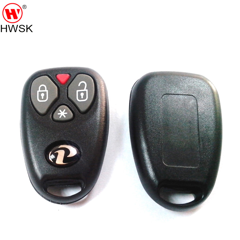100pcs lot BX023 high quality brazil positron car alarm system remote shell with positron logo