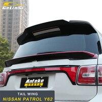 GELINSI задний спойлер багажника губы хвост крыло отделка внешние аксессуары для Nissan Patrol Y62 стайлинга автомобилей