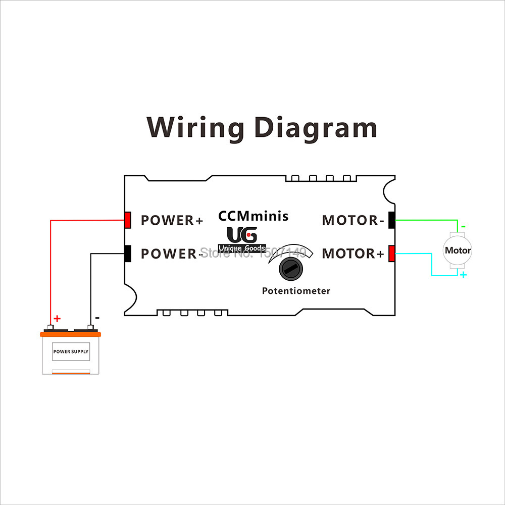 Unique Goods CCMminiS DC Motor Speed Controller PWM 6 24V (max) 3A Variable  Speed regulator Switch adjustable driver-in Motor Controller from Home ...