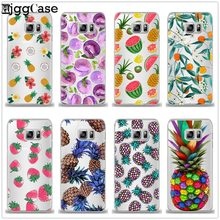 Fruits Watermelon Pineapple phone Case Cover For Samsung Galaxy S6 S7 Edge S8 S9 J3 J4 J5 J7 A3 A5 A6 A7 2016 2017 A8 plus 2018(China)
