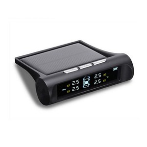 Image 3 - TPMS Tire Pressure Alarm Monitor Solar Powered Auto Tire Pressure Sensor LCD Display 4 Tires Real Time Wireless External Sensor