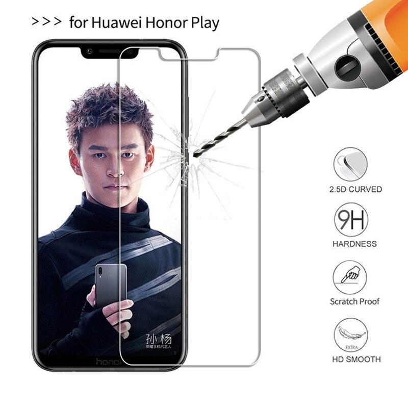 2.5D 0,3 мм 9 H закаленное Стекло для huawei Honor Play HonorPlay высокое качество Экран протектор Защитная пленка для huawei Honor play
