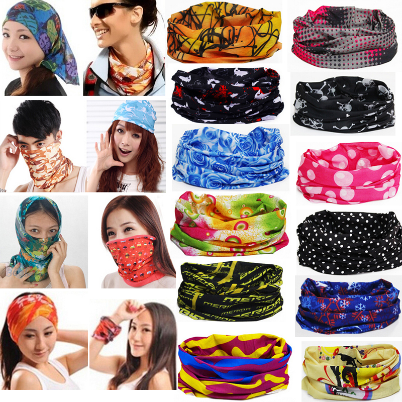LNRRABC Sale Women/Men Multi Purpose Multifunctiona Bandana Magic Scarf Face Mask Neck Warmer Wristband Hijab Headwear jetting 1pcs multi scarf tube mask cap neck face mask motorcycle bandana stretchable tubular headband for men and women