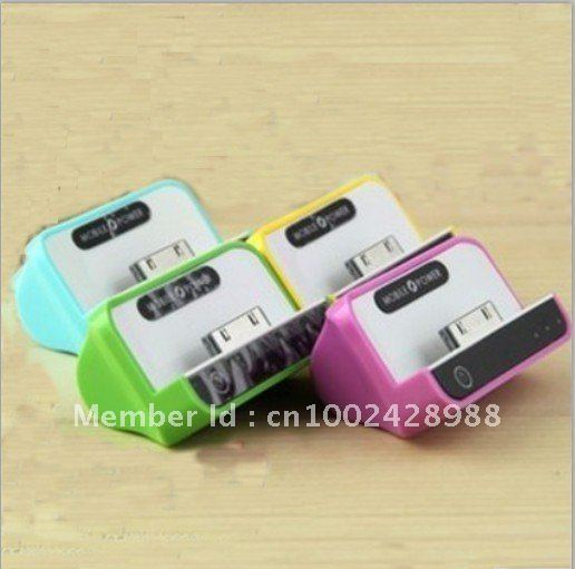 1100 mAh Mobile Power Lithium Battery for Iphone 3G4G/iPad 1 2/ PSP