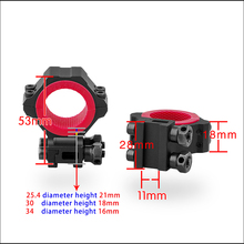 Universal scope Ring angle indicator special made Fit 30mm/25.4mm/34mm Scope Mount Rings for optical sight Hunting parts