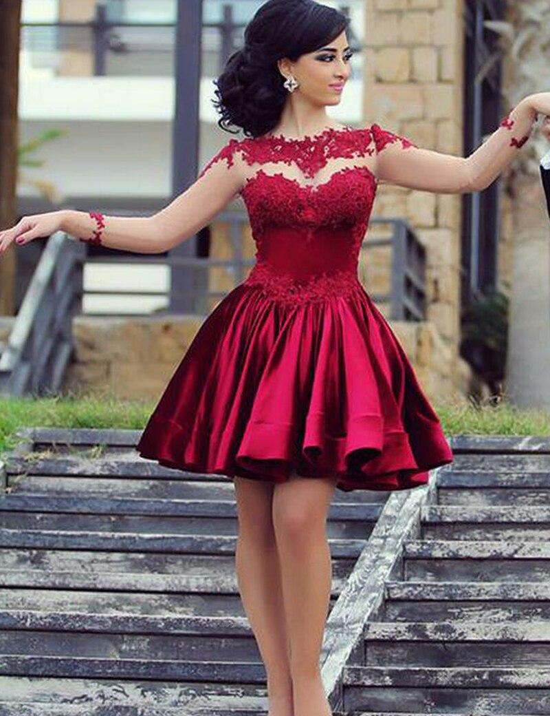 Online Get Cheap Long Sleeve Cocktail Dresses -Aliexpress.com ...