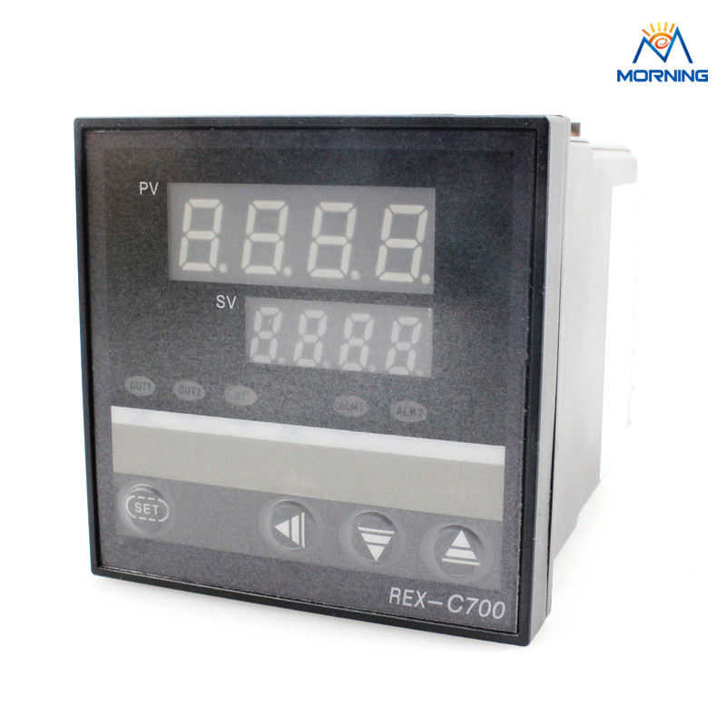 REX-C700 72*72mm Hot Sale Intelligent PID Dual Digital Temperature Controller, Temperature Instruments
