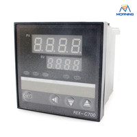 REX C700 72 72mm Hot Sale Intelligent PID Digital Temperature Controller Temperature Instruments