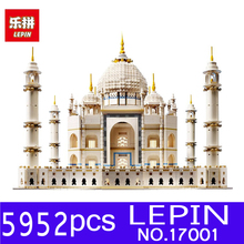 LEPIN 17001 5952pcs The Tai Mahal Model Kits Building Blocks Bricks Toys Compatible 10189 for Children Educational Funny Gifts(China)