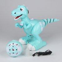 Creative Dinosaur Robot Remote Control Robotic Dinosaur Smart Pet Kid Toys Radio Controlled Robot Toy Spray Dinosaur Toy