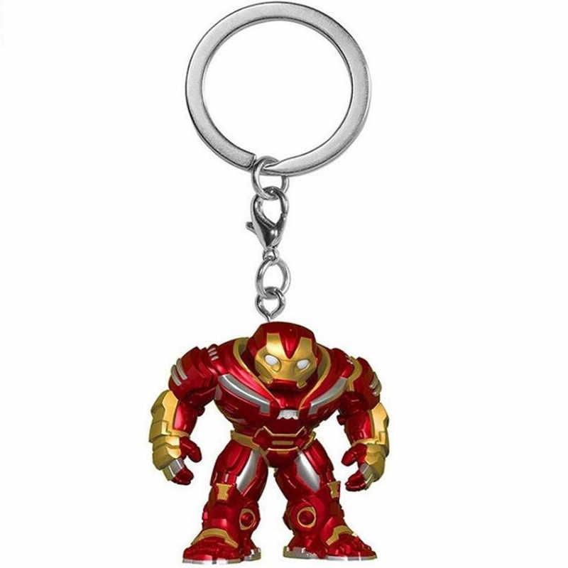 2018 nuovi giocattoli portachiavi capitan America Iron Man Groot portachiavi bambini Wonder Women portachiavi borsa ciondolo gioielli