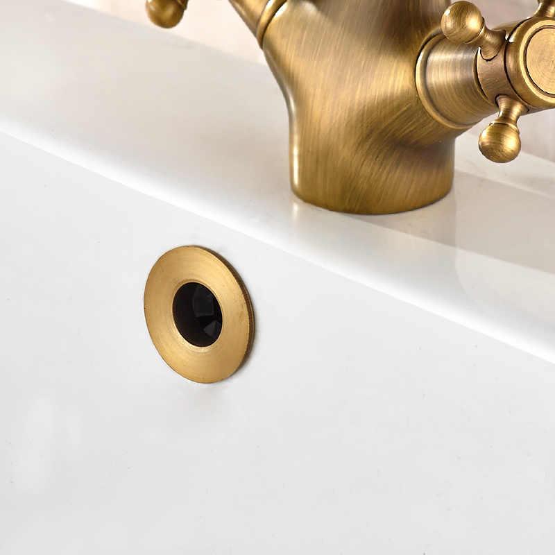Universele keramische wasbak overloop cover Ring Ronde 22mm Insert Gat Cover Decor Cap voor keuken badkamer Vervanging montage