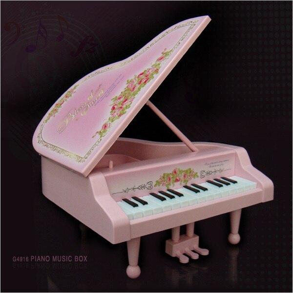 Birthday gift girls gift grand piano music box music box jewelry box