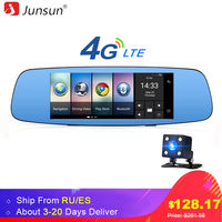 Junsun 4G 7 Car DVR Camera Rearview Mirror Android 5 1 With GPS Remote Monitor Full