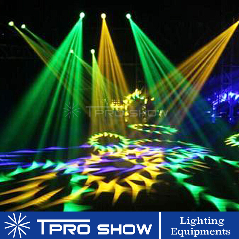 Image 5 - 2pcs 90W Moving Head Spot Lyre LED Stage Lights Dmx Gobo Prism Beam Effect Mini DJ Light for Party Club Wedding with Music Mode-in Stage Lighting Effect from Lights & Lighting