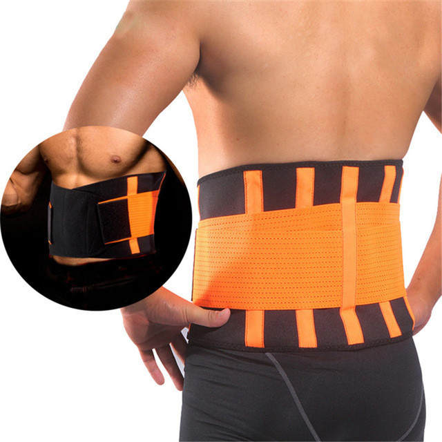 Slimming Belts Sweat Band Waist Trainer Corsets Body Shaper Girdles Men Women Waist Support Belly Trimmer Fajas Reductoras