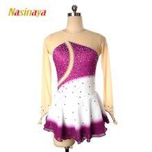 Nasinaya Figure Skating Dress Customized Competition Ice Skirt for Girl Women Kids Patinaje Gymnastics Performance 225