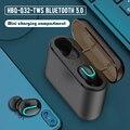 Мини TWS Bluetooth 5 0 наушники беспроводные наушники бинауральная гарнитура 1500 мАч Power Bank tws наушники спортивные наушники с микрофоном