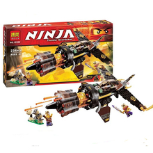 Bela 10322 Ninjagoes Boulder Blaster Ninja Masters of Spinjitzu Minifigure 234 Pcs Building Block