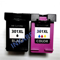 2Pcs For HP301 Ink Cartridge For HP 301 XL For HP Deskjet 1050 2050 2050s 3050