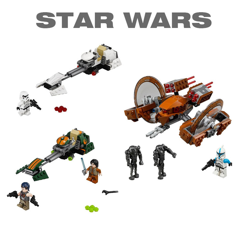 Bela Compatible With Legoe Star Wars Space Wars Building Blocks Bricks Toys Action Figures Toys bela building blocks guardians of the galaxy groot rocket star space war set diy bricks toy compatible with superheroes