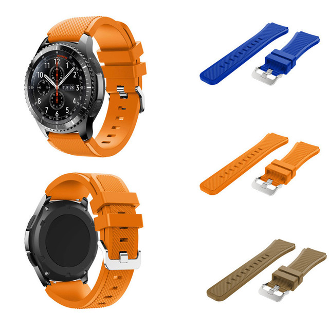 OTOKY Watchbands Sports Silicone Bracelet Strap Band For Samsung Gear S3 Frontie