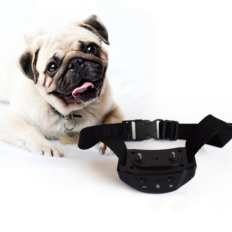 Electric Training Dog Anti Bark Collar No Barking Remote Waterproof Shock Vibration Remote Pet Dog Training Collars Equipment