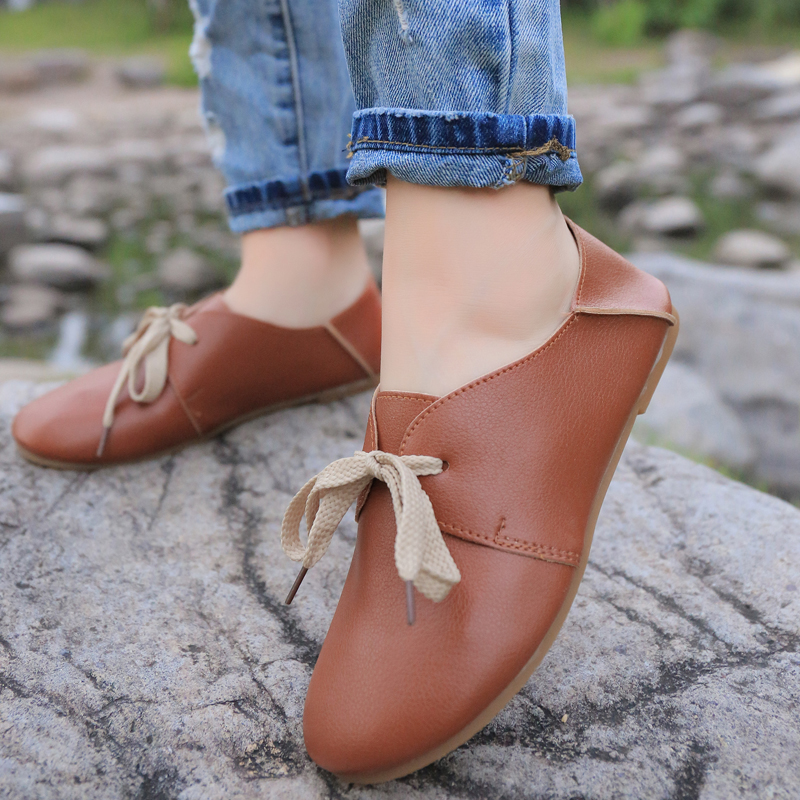 Autumn new style thick bottom comfortable wear - resistant shallow-mouthed doll shoes leisure single shoe package mail 16