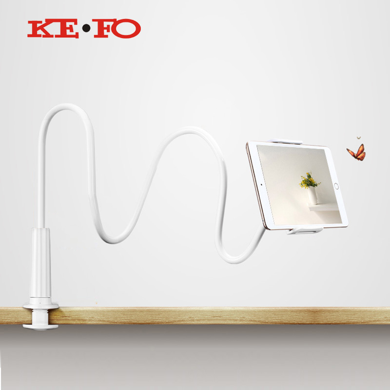 Kefo Flexible Desktop Tablet Holder For iphone Android Phones For iPad Air1 2 Mini 1 2 3 4 Holder For Support tablet bed