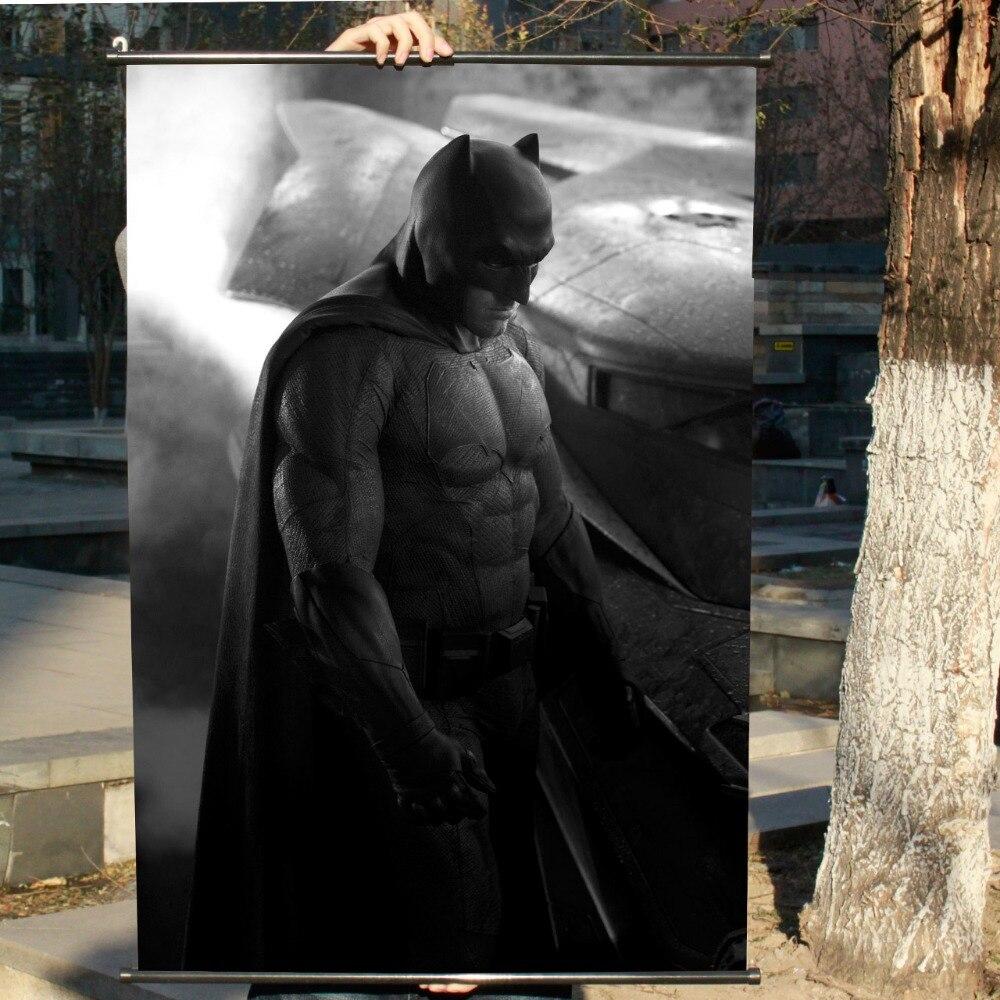 """""""batman V Superman"""" Hd Gioco Scrolls Movie Poster Wall Sticker Striscioni Appesi Panno Impermeabile Arte Camera Da Letto Soggiorno Decorazione Prezzo Moderato"""