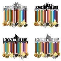 Марафон медаль Вешалка из нержавеющей стали медаль держатель Беговая медаль Вешалка половина марафона медаль витрина