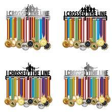 Marathon huy chương móc treo inox huy chương giá đỡ Chạy huy chương móc treo Nửa Marathon huy chương hiển thị giá