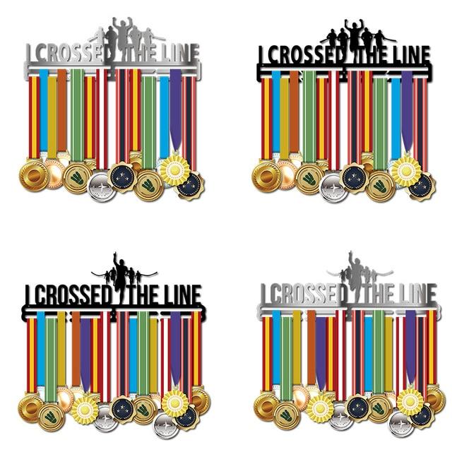 Marathon medal hanger Stainless steel medal holder Running medal hanger Half marathon medal display rack
