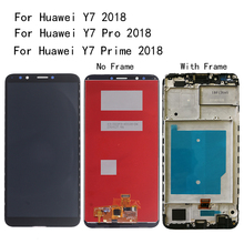6.0-inch Original For HUAWEI Y7 Prime 2018 LCD Display Touch Screen Digitizer for / Pro screen repair parts