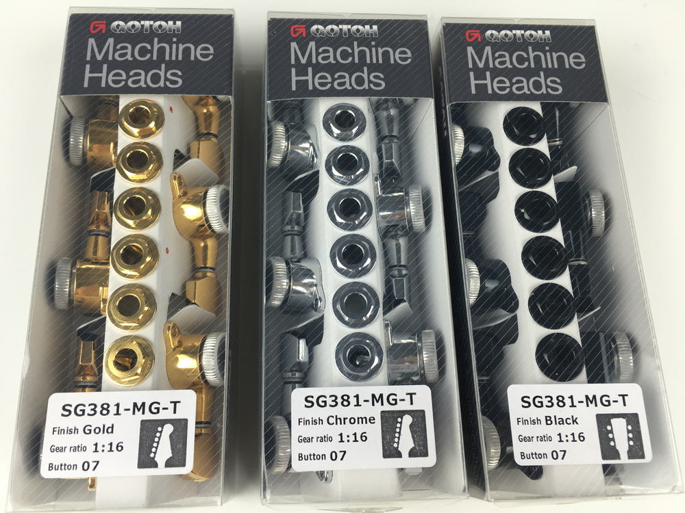 Original GOTOH SG381 07 MGT Electric Guitar Locking Machine Heads Tuners ( Chrome Black Gold Silver ) Tuning Peg-in Guitar Parts & Accessories from Sports & Entertainment    1