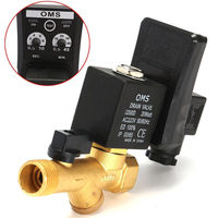 1pc 1 2 AC110V AC220V 1 6Mpa Electronic Drain Valve Timed Air Compressor Gas Tank Automatic