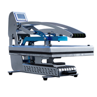 New Auto Open Flatbed Manual T shirt Sublimation Heat Press Machine for Mouse Pad,Heat Press Machine for T shirts 40*40cm