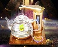 Полностью Интеллектуальный Электрический чайник Золотая груша деревянная основа полностью автоматический чайник для воды функция автома...