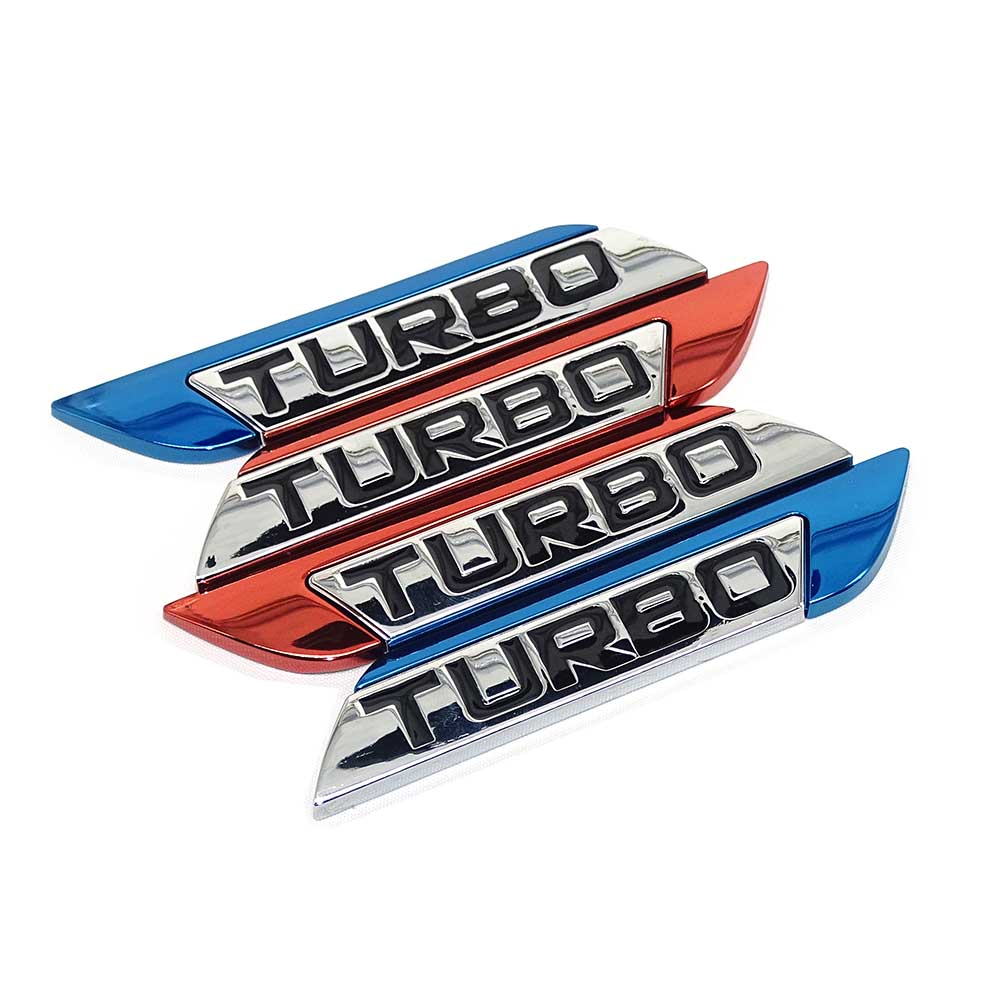 3D Car Emblem Sticker TURBO METAL GRILL Rear Trunk Car Badge for Audi BMW Ford focus VW skoda seat Peugeot lada Renault Hyundai 04l906088 exhaust gas temperature sensor abgastemperaturgeber for skoda vw seat audi