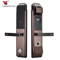 Электронных отпечатков пальцев замок Автозапуск цифровой Smart Anti theft дверные замки для дома безопасности