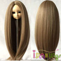 HT-Resistant Fiber Long Natural Color Doll Wig 1/3 1/4 1/6 for Choice