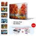 Landscape Canvas Laptop Cover For Macbook Pro 13 Retina Case Crystal Matte Surface Hard Cover For Mac Book Pro 15 Retina Case