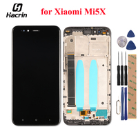 For Xiaomi Mi 5X Mi5X LCD Display Touch Screen Digitizer With Frame Replacement For Xiaomi Mi
