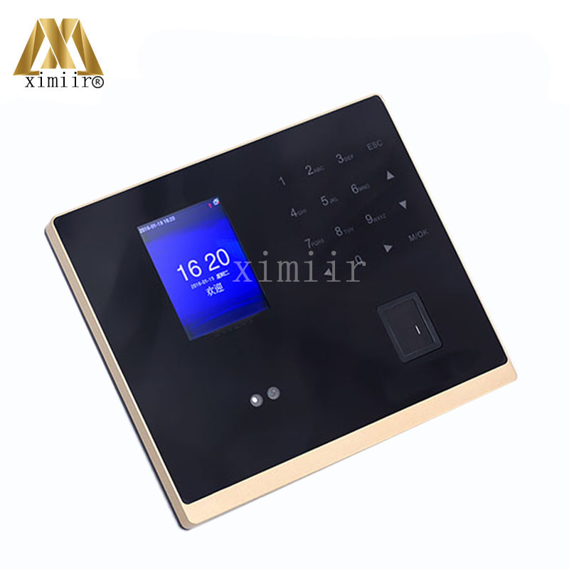 Free Software Face Recognition Time Clock GM500 Face + Fingerprin Time Attendance And Access Control TCP/IP Communication