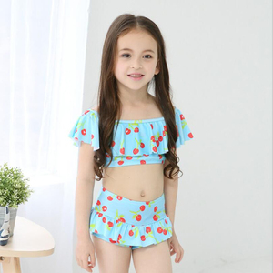 Big Sale 2018 Latest Bikini Swimwear Girl Children Swimsuit Children