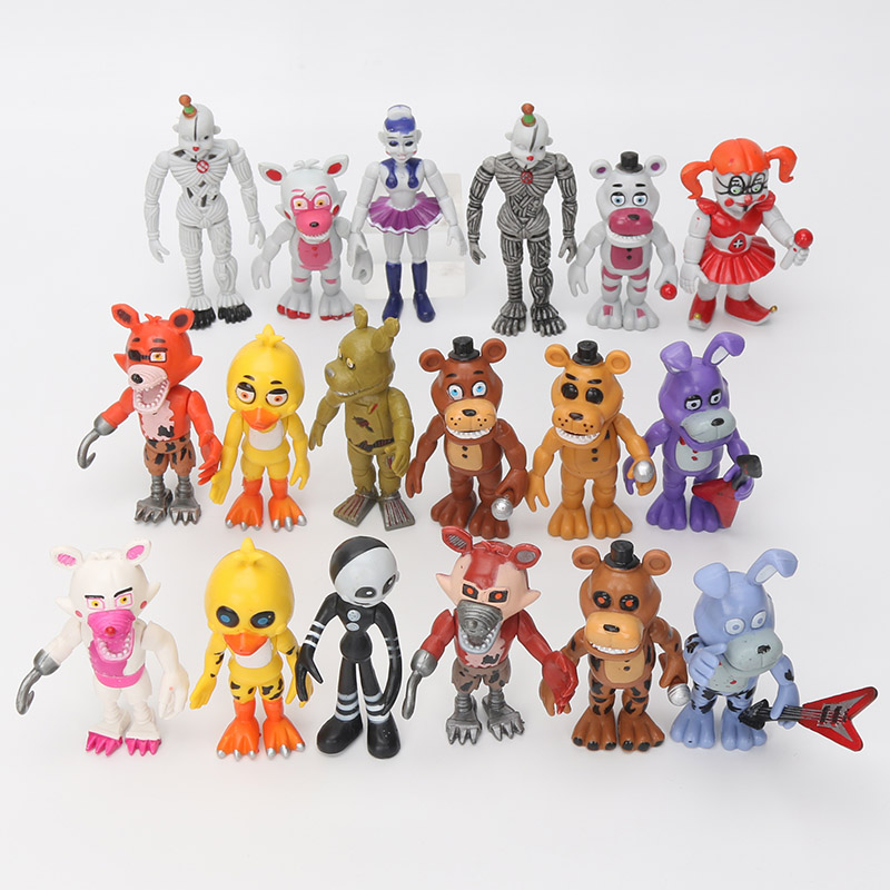 Toys For Sisters : Aliexpress buy pcs set cm five nights at freddy s