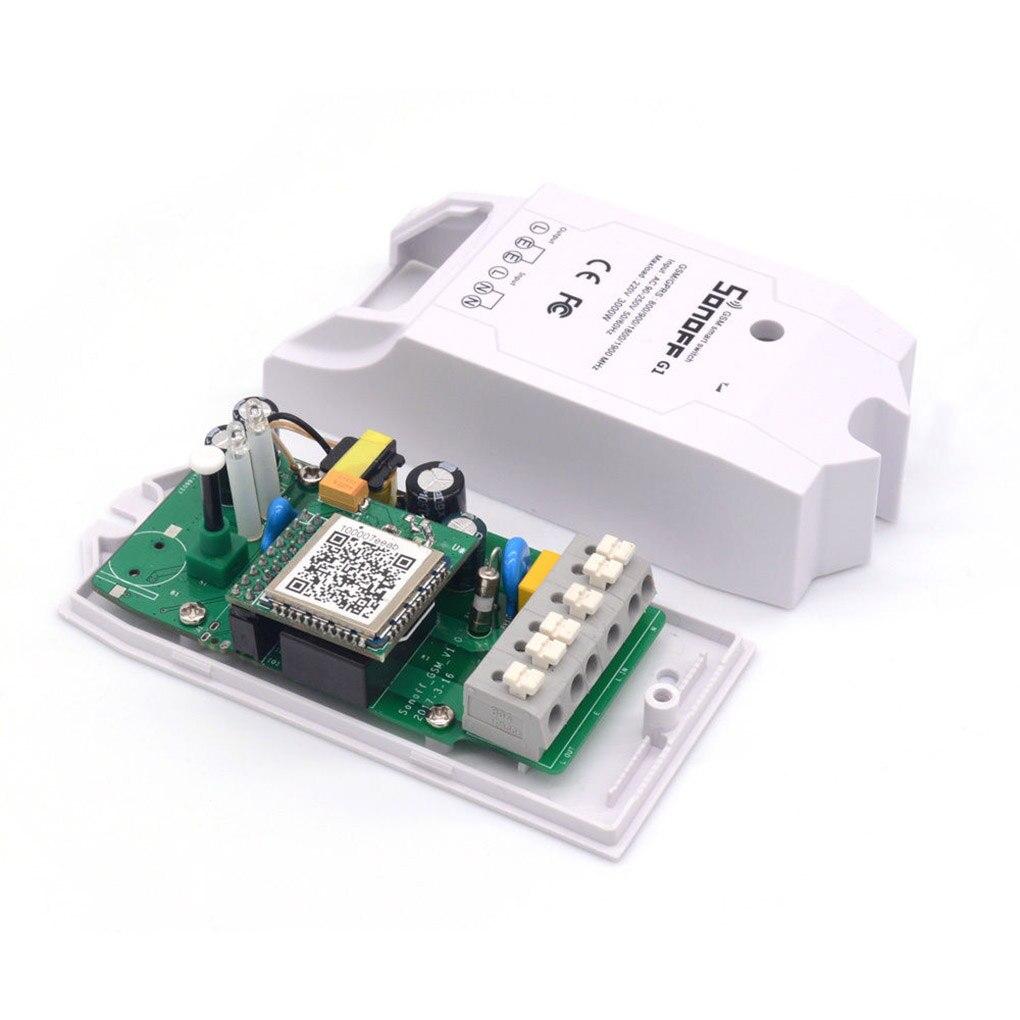 Sonoff G1 Wi-Fi Smart Switch GPRS переключатель GSM Wi-Fi контроллер для умных домашней автоматизации водяной насос огни Открытый Применение