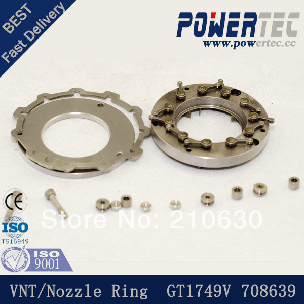 Turbo nozzle ring / VNT turbo charger GT1749V 708639 for Volvo-PKW S40 I,1.9 D,115HPTurbo nozzle ring / VNT turbo charger GT1749V 708639 for Volvo-PKW S40 I,1.9 D,115HP