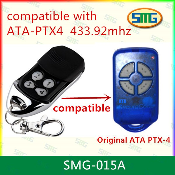 free shipping ATA PTX4 Garage Gate Replacement Compatible Remote Control garage door opener 800n automatic garage door machine chain door closer made in china garage door motor free gift of 3 meter track