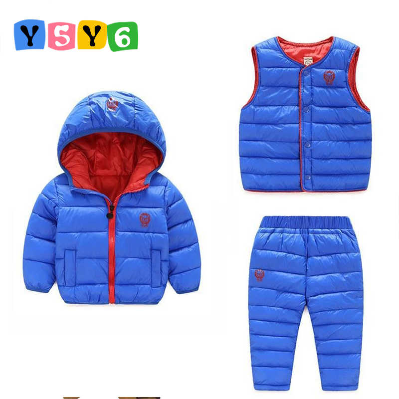 d9be6473b Detail Feedback Questions about Winter Kids Clothing Sets Warm Duck ...